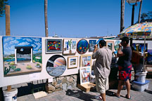 Art fair. Avalon, Catalina Island, California. - Photo #569
