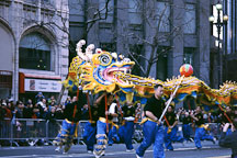 Dragon. San Francisco Chinese New Year Parade. San Francisco, California. - Photo #157