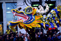 Dragon. San Francisco Chinese New Year Parade. San Francisco, California. - Photo #160