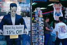 Frankenstein and tourist shop. Hollywood, Los Angeles, California, USA. - Photo #581