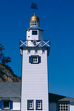 Miniature lighthouse. Avalon, Catalina Island, California. - Photo #568