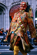 Traditional costume. San Francisco Chinese New Year Parade. San Francisco, California. - Photo #169