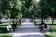 Plaza park. San Jose, California. - Photo #608