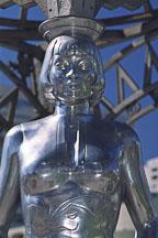 Statue of Anna May Wong. Hollywood, California, USA. - Photo #586