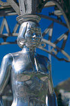 Statue of Anna May Wong. Hollywood, Los Angeles, California, USA. - Photo #587