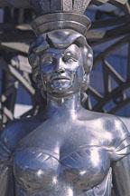 Statue of Mae West. Hollywood, California, USA. - Photo #589