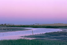 Twilight at Palo Alto Baylands Nature Preserve, California. - Photo #221