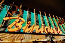Binion's gambling hall and hotel. Las Vegas, Nevada, USA. - Photo #13702