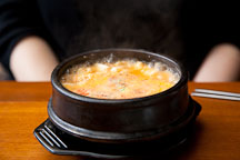 Dubu jeongol (tofu hot pot) is a tasty Korean dish. - Photo #21102