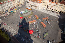 Aerial view of old town square. Prague, Czech Republic. - Photo #30220