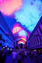 Light show at Fremont Street. Las Vegas, Nevada, USA. - Photo #13720