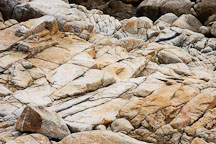 Rocky shoreline, 17-Mile drive, California, USA. - Photo #4820