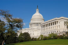 U.S. Capitol, afternoon. Washington, D.C., USA. - Photo #11320