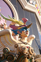 Jester statue on the outside of Harrah's Casino. Las Vegas, Nevada. - Photo #19990