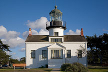 Point Pinos Lighthouse. Pacific Grove, California. - Photo #19546