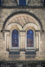 Stained glass windows. University of Toronto, Canada. - Photo #19737