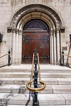 Old stone church. Cleveland, Ohio, USA. - Photo #4121