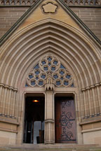 Entrance to St. Mary's Cathedral, Sydney, Australia. - Photo #1421