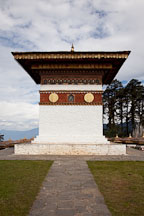 The main chorten. Dochu La pass, Bhutan. - Photo #23121
