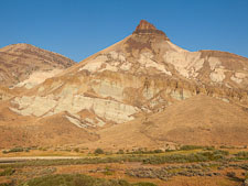 Sheep Rock at John Day Fossil Beds. - Photo #27821