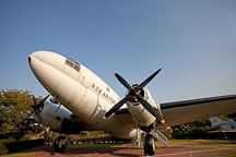 Curtiss C-46 plane, War Memorial of Korea. - Photo #20823