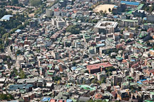 Dense urban development as seen from N Seoul Tower in Namsan Park. - Photo #20596