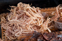 Ojingeo (dried squid) is popular at sidewalk stands in Korea. - Photo #20109