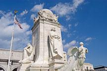 Christoper Columbus Memorial Fountain at Union Station. Washington, D.C., USA. - Photo #11222