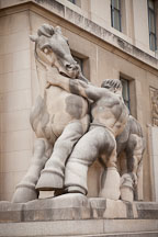 Man controlling trade. Federal Trade Commission building, Washington, D.C. - Photo #29322