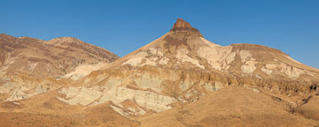 Sheep Rock panorama. John Day Fossil Beds, Oregon. - Photo #27822