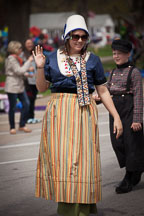 Woman in Dutch dress. Pella, Iowa - Photo #32522