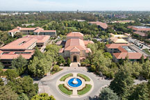 Aerial view of Stanford University campus. - Photo #21916
