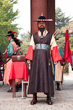 Captain of the guard at Deoksu Palace in Seoul, South Korea. - Photo #21255