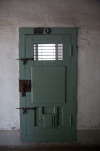 The imposing door to cell number eleven at Seodaemun Prison in Seoul, South Korea. - Photo #21441