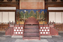 Myeongjeong Hall was built for King Seongjong in 1483, burned down in 1592 and rebuilt in 1616. - Photo #21340