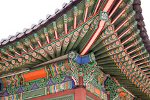 Painting detail of Deokhongjeon Hall at Deoksu Palace in Seoul, South Korea. - Photo #21248