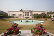 Seokjojeon was completed in 1909 on the grounds of Deoksu Palace and used by Emperor Gojong to receive visiting foreign dignitaries. The building now houses the National Museum of Art. - Photo #21236