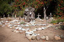 Carmel Mission cemetery. Carmel, California. - Photo #26823