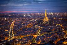 Paris at night. - Photo #31523