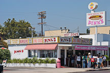 Pink's, a hot dog restaurant. Los Angeles, California, USA. - Photo #8123