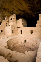 Spruce Tree House. Mesa Verde NP, Colorado. - Photo #18623