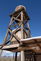 Water tower. Goldfield, Phoenix, Arizona, USA. - Photo #5523