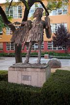 Spirit of Sparta statue on San Jose State University campus. - Photo #22180