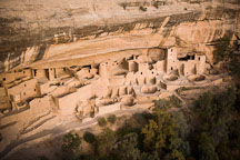 Cliff Palace ruins. Mesa Verde NP, Colorado. - Photo #18724