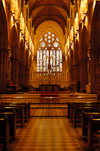 Inside St. Mary's Cathedral, Sydney, Australia. - Photo #1424