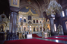 Inside Uspensky Cathedral. Helsinki, Finland. - Photo #424