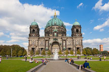Lustgarten and Berlin Cathedral. - Photo #30624