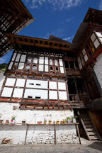 Buildings at Cheri Monastery. Thimphu Valley, Bhutan. - Photo #23083