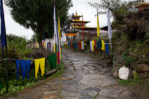 Entrance to Kyichu Lhakhang. Paro, Bhutan. - Photo #23990