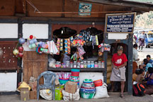 General shop in Wangdue Phodrang, Bhutan. - Photo #23668